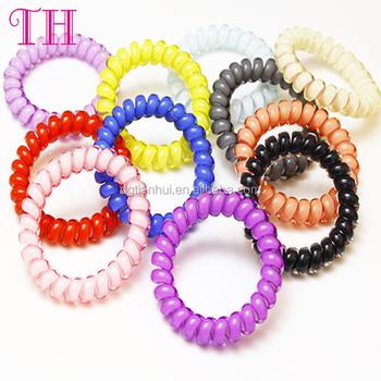 China hair accessory suppliers candy colors girl hair band storage