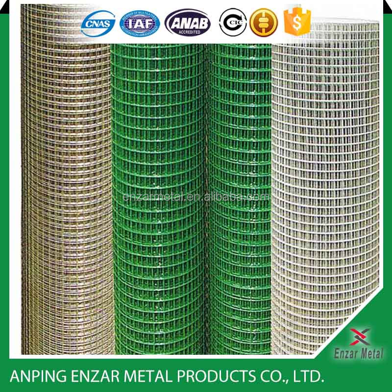 heavy gauge pvc coated welded wire mesh