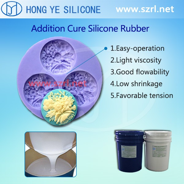 Translucent Liquid FDA grade platinum cure silicone rubber