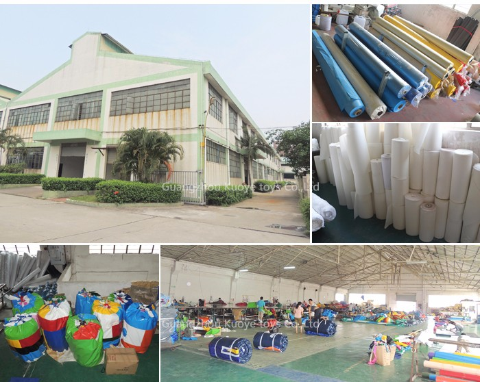 pvc material and inflatable course novelty and popular inflatable obstacle course jungle