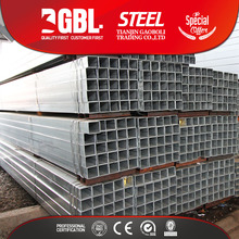 HOT DIPPED GALVANIZED SQUARE HOLLOW STEEL TUBE