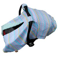 World Class Colorful Chevron Patterns Cotton Cheap Baby Car Seat Cover