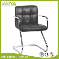 Office visit leather chair for meeting room designs