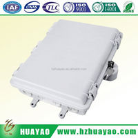 Outdoor/Indoor fiber optic amp 24 port patch panel
