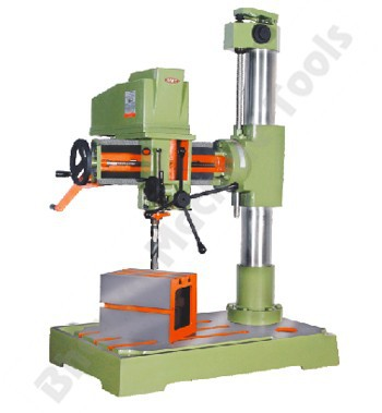 Trouble Free Running Radial Drill Machine For Fast Drilling