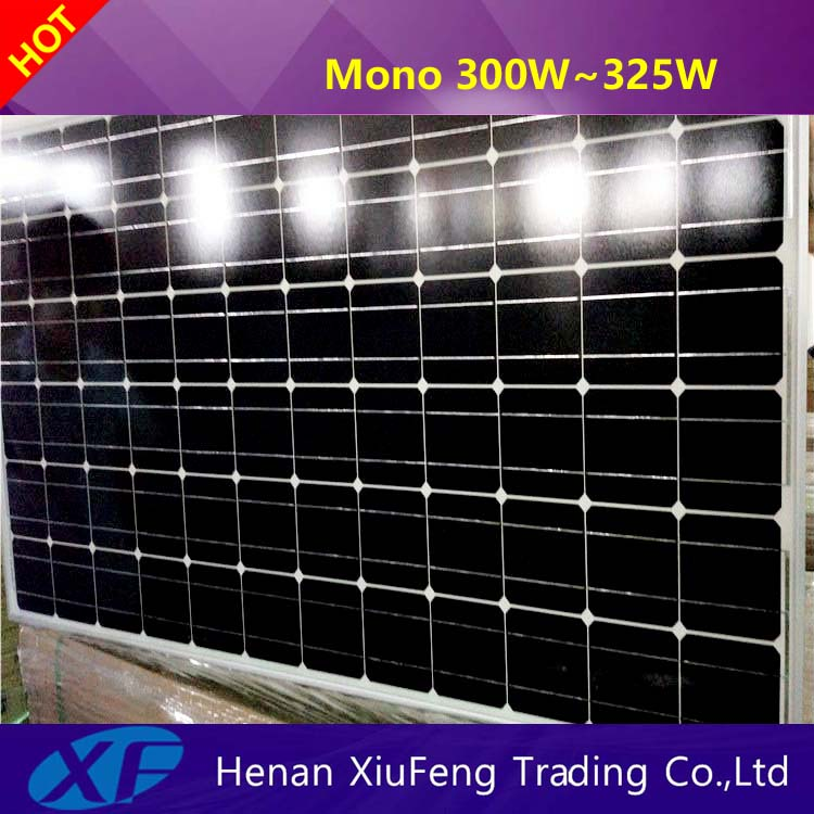 China manufacturer 310w solar panels csa with TUV CE certification for Norway