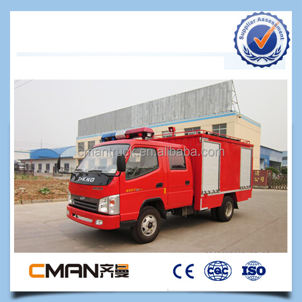 diesel type dongfeng engine 4m3 high quality mini fire truck made in china