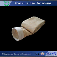 PTFE coated dust collector fiber glass filter bag