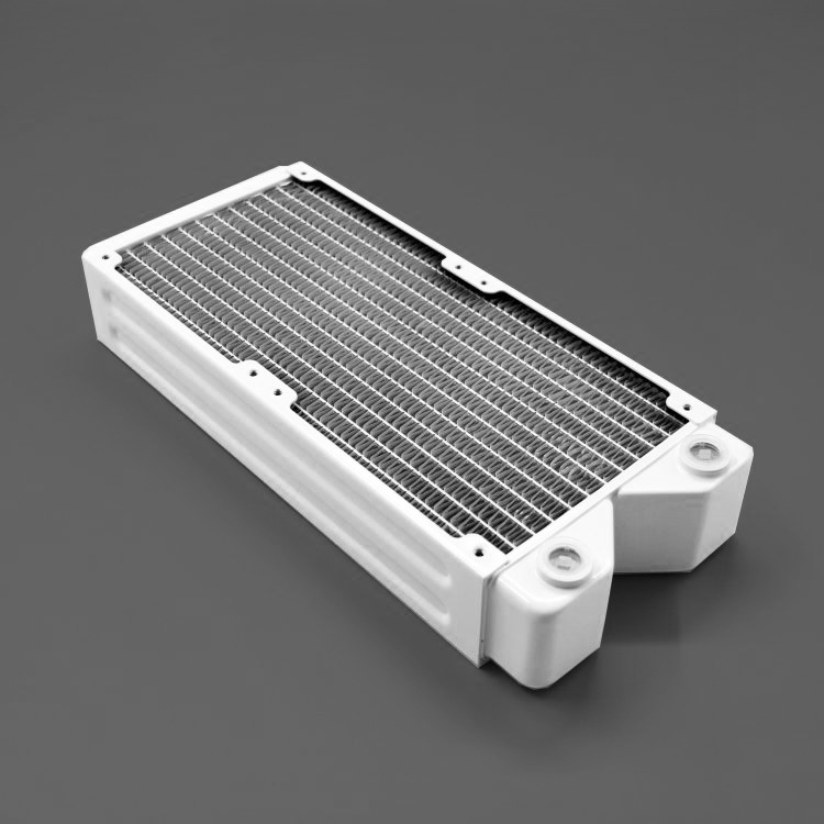 New products,white Copper Radiator for computer 45mm thickness 240mm length
