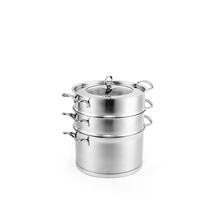 Steam Stainless Steel Panci Steamer Makanan Bun Steamer Stainless Uap Pot