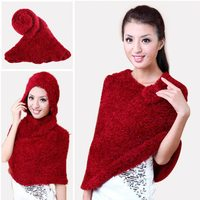 Wholesale price women fashion shawls pashmina poncho multi use scarf taiwan magic scarf