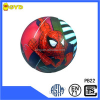 PU soft anti stress spiderman ball