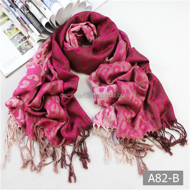 A82 Beautiful hot sale lady's pashmina scarf/shawl