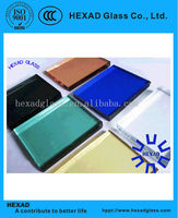 high quality tinted float glass in various colors