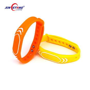 GYM silicone rfid wristband for swimming pools/nfc bracelet /213 nfc wrist bands