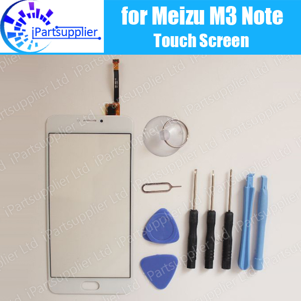 Meizu M3 Note touch screen 100% Original Digitizer glass panel Assembly Replacement for Meizu M3 Note cell phone+ Tools