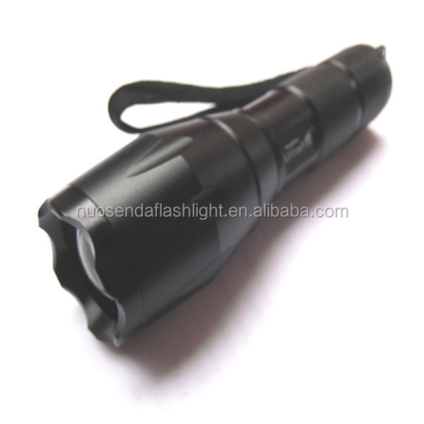 UltraFire A100 CREE XP-L V5 1500lm 5-Mode Zooming LED Flashlight (1x18650/3xAAA)