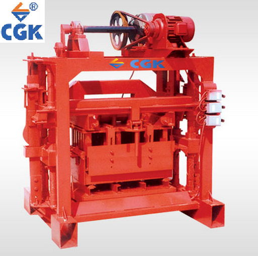 CGK hollow brick making indian price hydraulic angola cement block concrete blocks breaking machine 4-40B Manufacturer Price