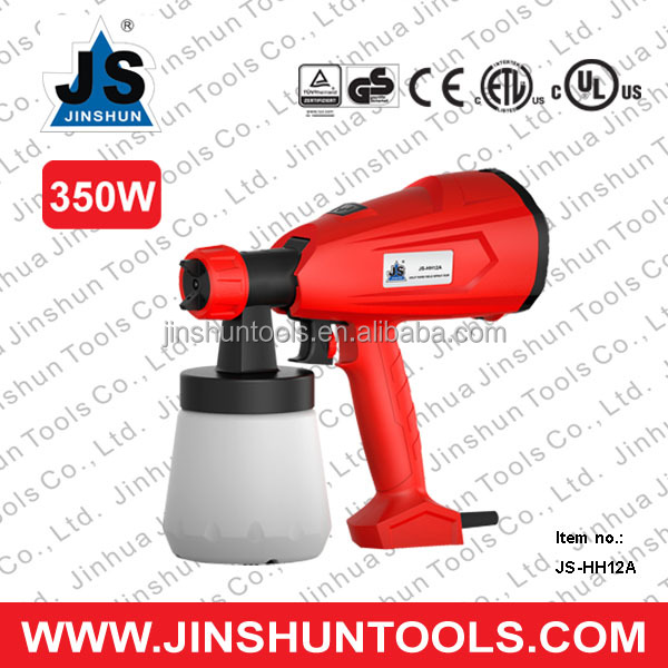 JS-HH12A 350W Professional factory Adjustable electri star spray gun paint gun