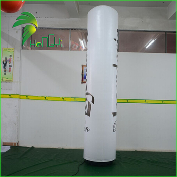 LED Lighting Air Totem, Inflatable LED Column, Advertising Illuminating Inflatable Balloon