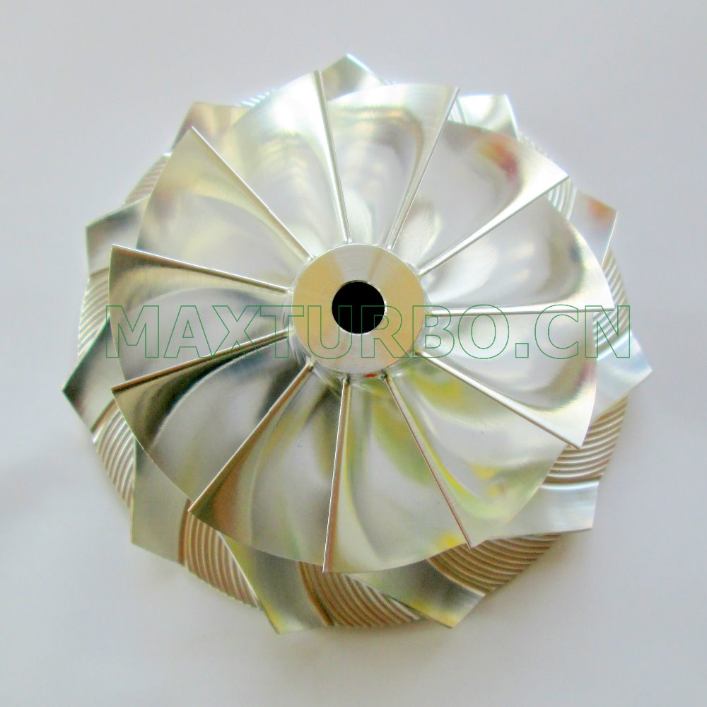 Upgrade GT3584 Turbo Billet Compressor Wheel Impeller 11+0 blades