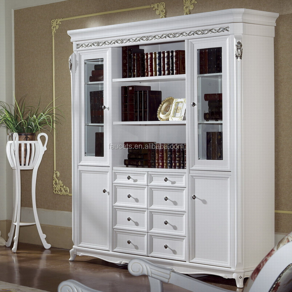 European Style Bookcase, Simple Design Combination Bookshelf