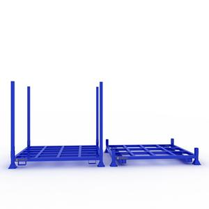 Stackable storage steel tire pallet rack
