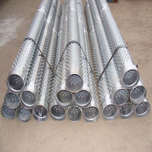Stainless 304&430 Bridge slot screen pipe/Bridge slot water well filter pipe(factory for 20 year's)