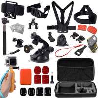 used for gopro accessories set gopro hero 4 accessories gopro hero 3 go pro camera accessories Combo Kit 16