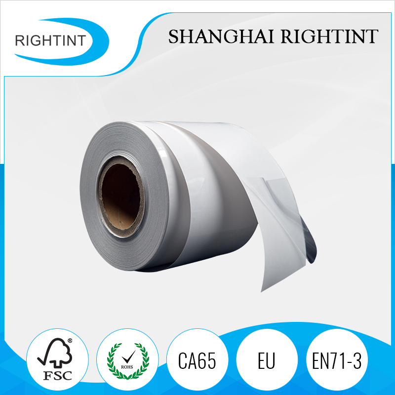 No adhesive Soft Transparent Static Cling PVC Stretch Film in Rolls