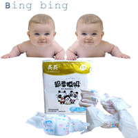 best Design Soft Leakage Proof Super Absorbent leff cuff organic cotton Baby Diapers