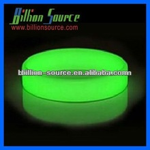 Advertising silicone rubber glow bracelet with fast delivery