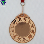 Hot Sale Low Price Gold Silver Bronze blank Embossed Sport Medals