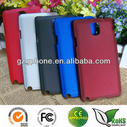 Wholesale price cover for galaxy note 3 with soft rubber coating
