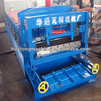 Glazed Steel Tile Roofing Sheet Making Machine