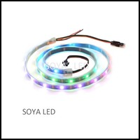 SK6812 30/60/144 LEDs/m 5050 RGB Flexible led strip Light 5V Similiar as WS2812B APA104 APA102