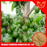 Losing weight agent! Wholesale price 50% chlorogenic acid powder extract from green coffee bean
