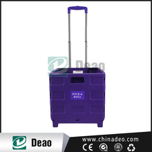 hot-sale new folding shopping cart/shopping trolley smart cart