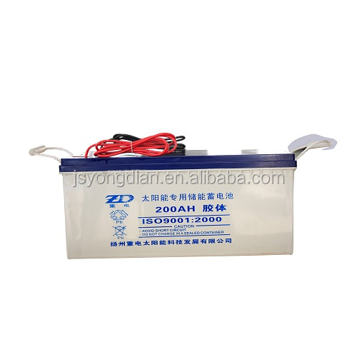 solar battery 12v 200Ah battery solar power storage battery