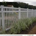 Made in China Fenctech High Quality Customized 3-rail Vinyl Pool Fence