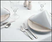 100% Cotton and Poly Cotton table napkins