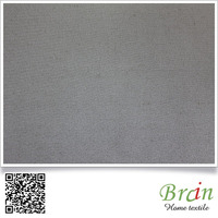 60% polyester 40% poly cotton plain jacquard fabric for home curtain