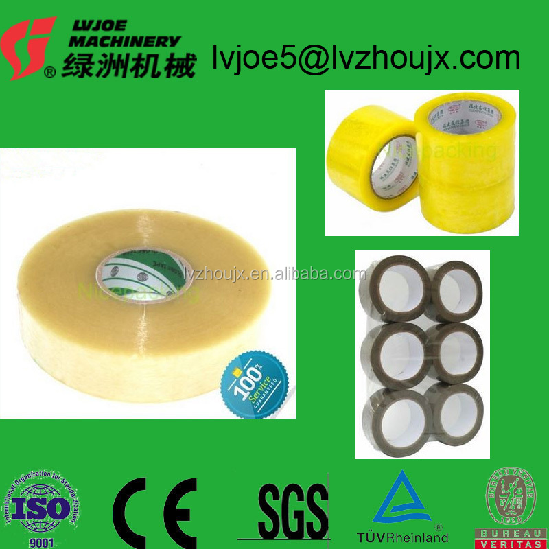 Hot Sale Packing Adhesive Film Jumbo Roll Bopp Acrylic Glue Hot Melt Tape For Packaging