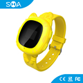 2017 Factory Wholesales 3G SIM Card Smart Watch Phone for Kids PK Q50 Kids Gps Watch