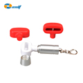 Retail Anti-theft double loop hook stoplock security display lock