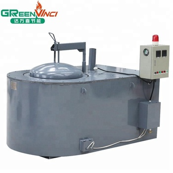 greenvinci new energy-saving gas furnace for aluminium melting furnace
