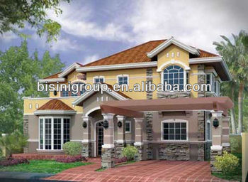 3D modern house plans, luxury house design, architectural design services(B06-100062)