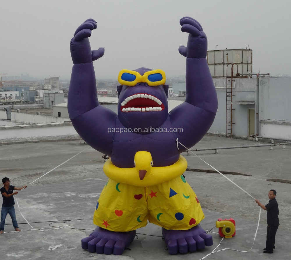 Outdoor Inflatabe Ape Monster/Inflatable Gorilla/Inflatable King Kong
