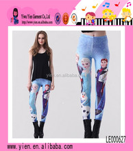 Fashion Prince Princess Printing Leggings Slim Charming Wholesale Cartoon Leggings