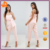 custom jumpsuit women,new design pink off shoulder plus size jumpsuits